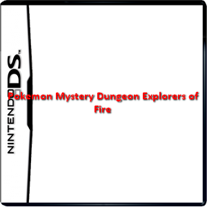 Pokemon Mystery Dungeon Explorers of Fire Box Art