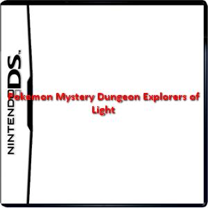 Pokemon Mystery Dungeon Explorers of Light Box Art