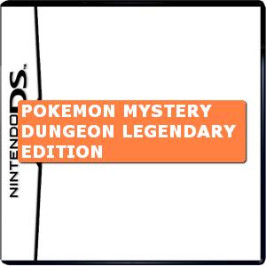 Pokemon Mystery Dungeon Legendary Edition Box Art