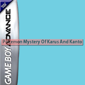 Pokemon Mystery Of Karus And Kanto Box Art