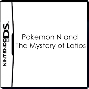 Pokemon N and The Mystery of Latios Box Art