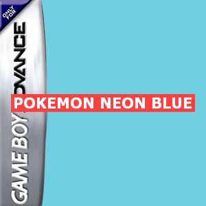 Pokemon Neon Blue Box Art