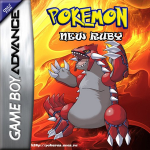Pokemon New Ruby Box Art