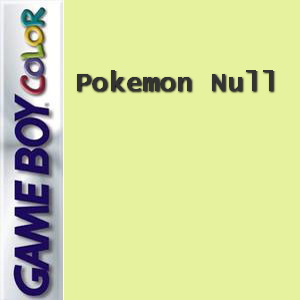 Pokemon Null Box Art