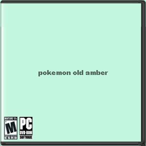 Pokemon: Old Amber Box Art