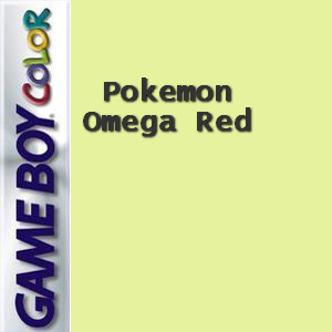 Pokemon Omega Red Box Art
