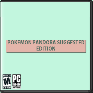 Pokemon Pandora Suggested Edition Box Art