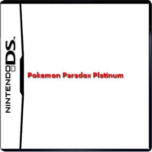 Pokemon Paradox Platinum Box Art