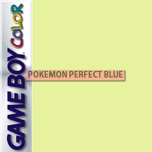 Pokemon Perfect BLUE Box Art