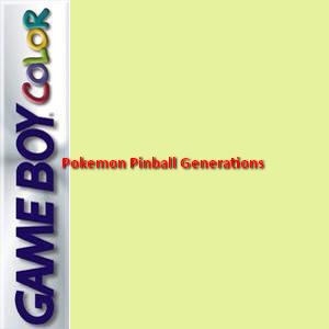 Pokemon Pinball Generations Box Art