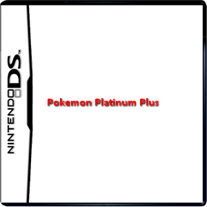 Pokemon Platinum Plus Box Art