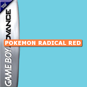 Pokemon Radical Red Box Art