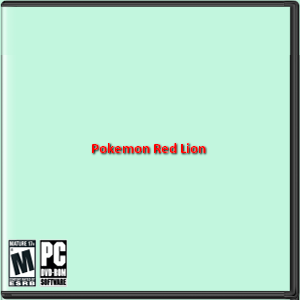 Pokemon Red Lion Box Art