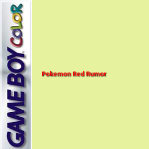 Pokemon Red Rumor Box Art