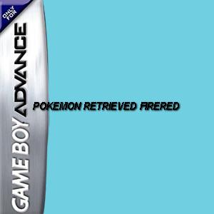 Pokemon Retrieved Firered Box Art