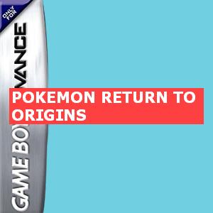 Pokemon Return To Origins Box Art
