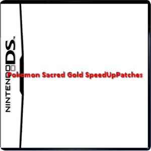 Pokemon Sacred Gold SpeedUpPatches Box Art