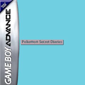 Pokemon Secret Diaries Box Art