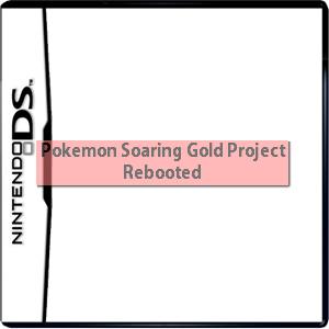 Pokemon Soaring Gold Project Rebooted Box Art