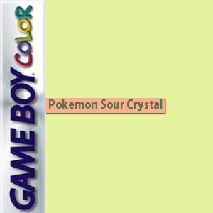 Pokemon Sour Crystal Box Art