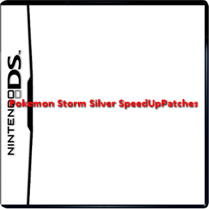 Pokemon Storm Silver SpeedUpPatches Box Art