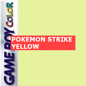 Pokemon Strike Yellow Box Art