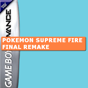 Pokemon Supreme Fire Final Remake Box Art