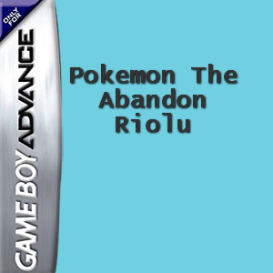 Pokemon The Abandon Riolu Box Art