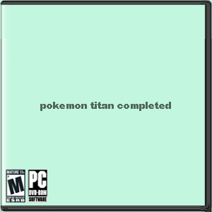 Pokemon Titan Completed Box Art