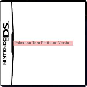 Pokemon Torn Platinum Version Box Art