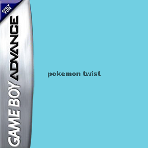 Pokemon Twist Box Art