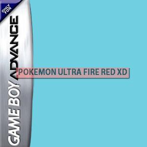 Pokemon Ultra Fire Red XD Box Art