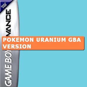 Pokemon Uranium GBA Version Box Art