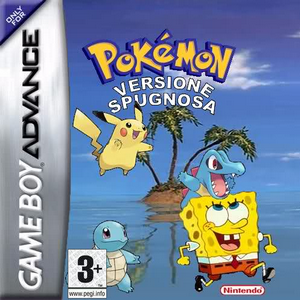 Pokemon Versione Spugnosa Box Art