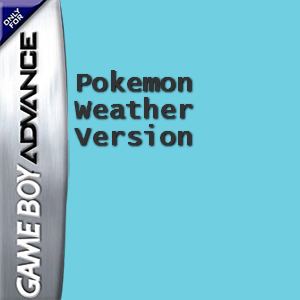 Pokemon Weather Version Box Art
