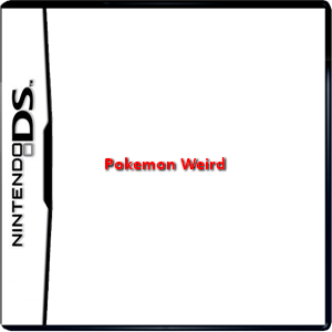 Pokemon Weird Box Art