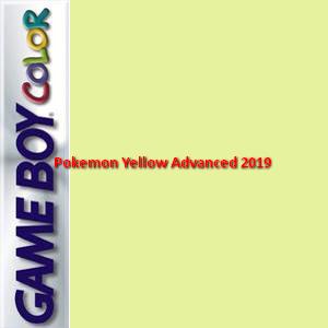 Pokemon Yellow Advanced 2019 Box Art