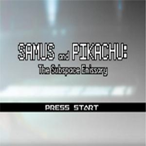 Samus & Pikachu: The Subspace Emissary Box Art