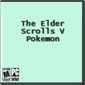 The Elder Scrolls V: Pokemon Box Art