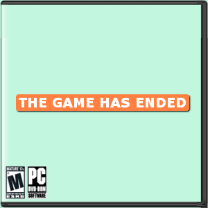 The Game Has Ended Box Art