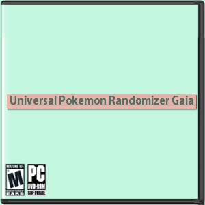 Universal Pokemon Randomizer Gaia Box Art