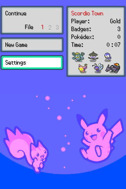 DittoWare: Pokemon Game Engine Screenshot