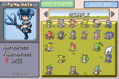 Mega Moemon FireRed Download, Cheats, Walkthrough on