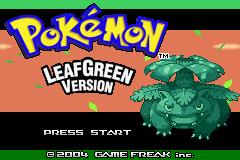 Moemon Leaf Green Screenshot