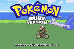 Pokemon Ruby 2012 Screenshot