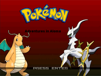 Pokemon: Adventures in Aloma Screenshot