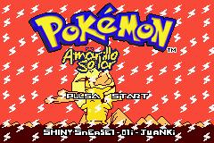 Pokemon Amarillo Solar Screenshot