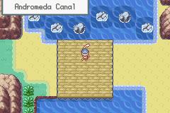 Pokemon Aquamarine Version Screenshot