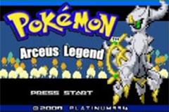 Pokemon Arceus Legend Screenshot