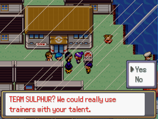 Pokemon Aster Violet Screenshot
